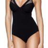 DDKNY Body Mesh Litewear DK2023 čierne