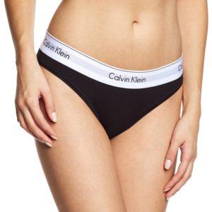 Calvin Klein Nohavičky Bikiny Modern Cotton F3787E čierne