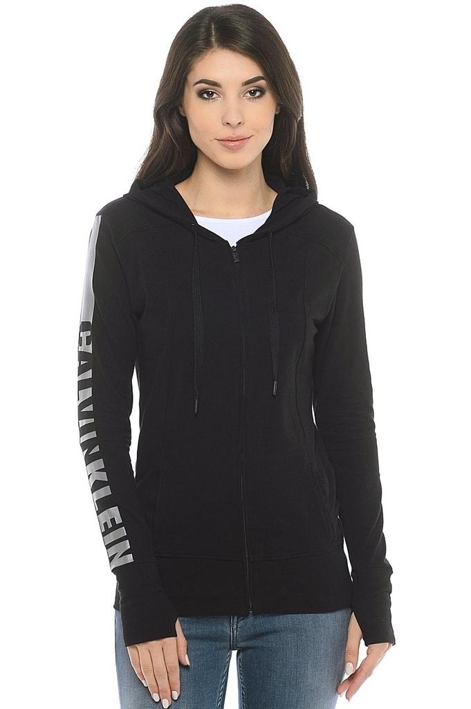 Calvin Klein Dámska Mikina QS5547E čierna 120d3f27eb7