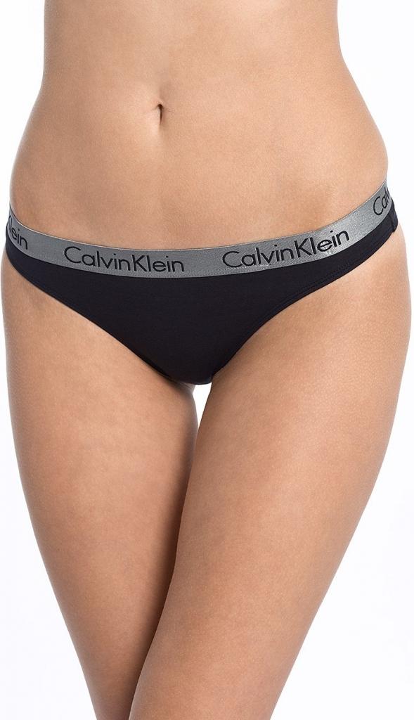 f4e4b9c742 Calvin Klein Nohavičky Tangá QD3539E 001 čierne - Spodné prádlo a ...