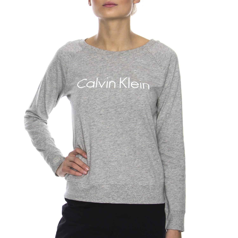 Calvin Klein Dámska Mikina QS5790E 020 šedá 8826646c844