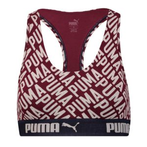 PUMA LOGO COLLAGE PRINT RACER BACK TOP 1P
