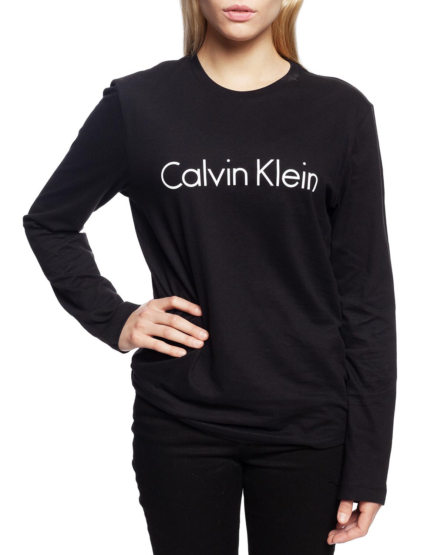 39be2de8d5 Calvin Klein dámske tričko QS6164E čierne - Spodné prádlo a doplnky ...