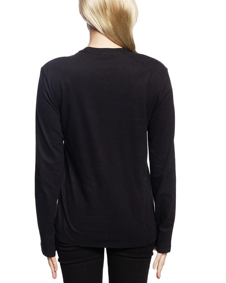 Calvin Klein dámske tričko QS6164E čierne - Spodné prádlo a doplnky ... fb78d8e1ab9
