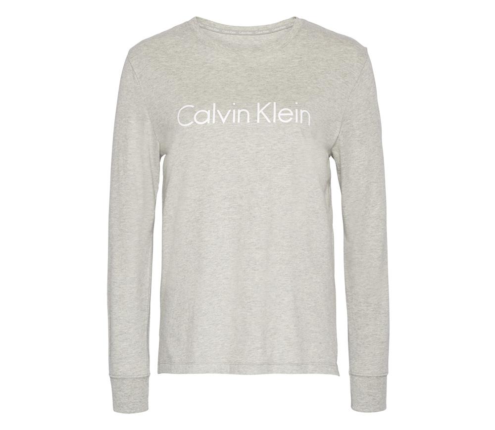 Calvin Klein dámske tričko QS6164E šedé - Spodné prádlo a doplnky ... d5b61420b3a