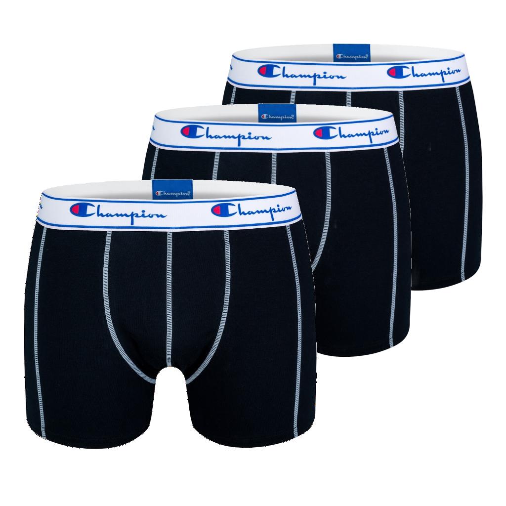 5ee9e7730c Champion pánske boxerky Y081T tmavé 3ks v balení - Spodné prádlo a ...