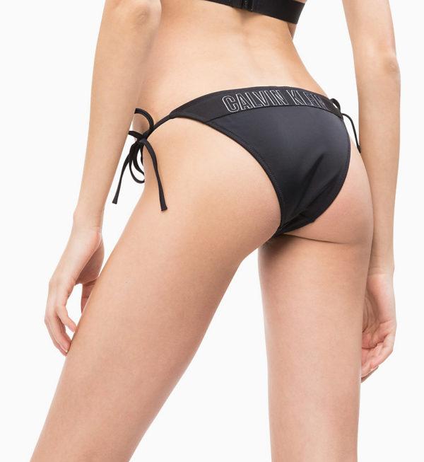 Calvin Klein dámske plavky čierne W00592