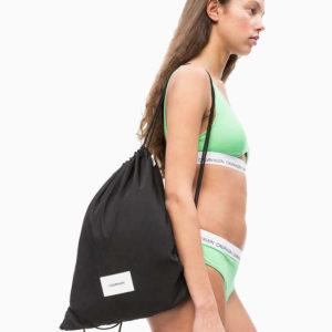 Calvin Klein plážová taška čierna