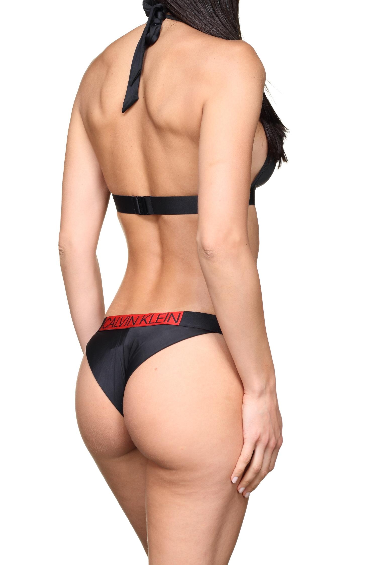 cca77ebf9 Calvin Klein dámske plavky brazilky W00619 čierne - Spodné prádlo a ...