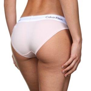 Calvin Klein nohavičky bikini F3787E 2NT ružové