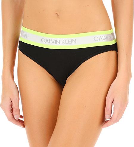 Calvin Klein nohavičky bikiny QF5460E čierne