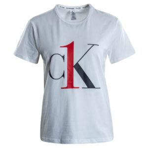 Calvin Klein dámske tričko QS6436E biele